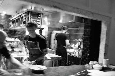 Photograph - Busy Kitchen In Dc by Doug Ash