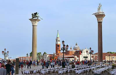 Katharine Hepburn - Busy Venice 9309 by Jack Schultz