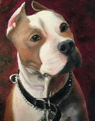 Karen Jordan Wall Art - Painting - Butch by Karen Jordan