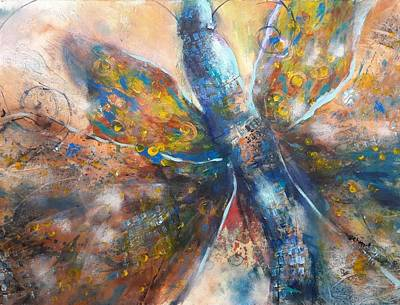 Painting - Butterfly by Becky Chappell