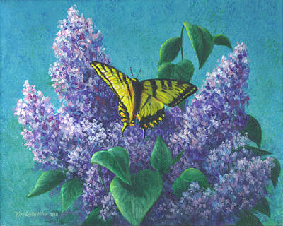 Painting - Butterfly Bliss by Kim Lockman