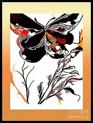 Keith Richards - Butterfly Dreams by Debra Lynch