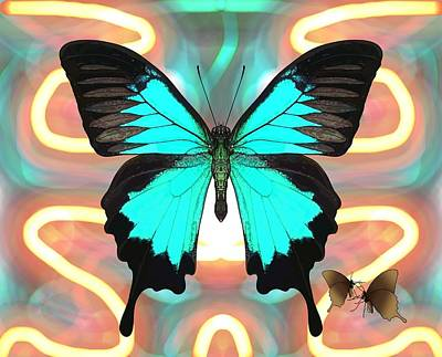 Master Wall Art - Digital Art - Butterfly Patterns 21 by Joan Stratton
