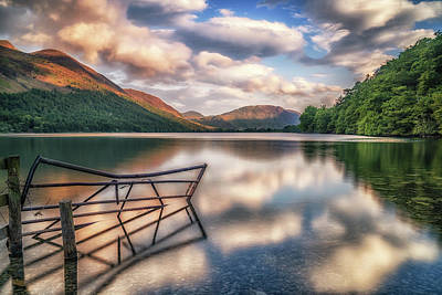 Photograph - Buttermere Gate by Framing Places