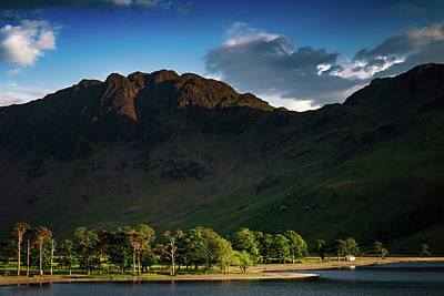 Photograph - Buttermere Lakeside by Framing Places