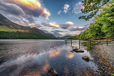 Photograph - Buttermere Reflections by Framing Places