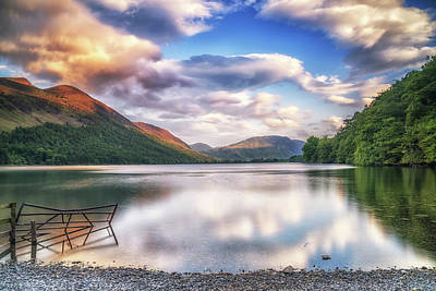 Photograph - Buttermere Solitude by Framing Places