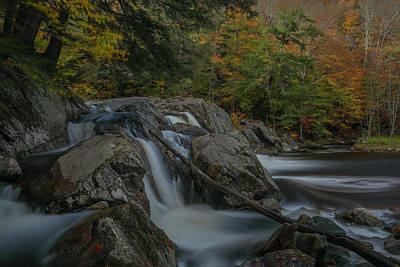 Photograph - Buttermilk Falls by Juergen Roth