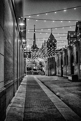 Photograph - Bw City Lights by Dan Urban