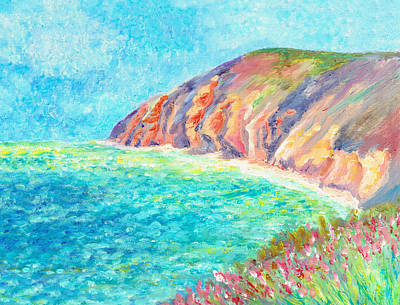 Painting - By The Sea by Elizabeth Lock