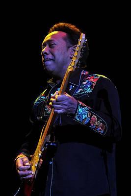 Photograph - Byron Showman Bordeaux Live by Larry Hulst