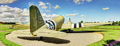 Photograph - C-47 Dakota Rear View by Weston Westmoreland