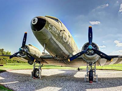 Photograph - C-47 Dakota Short by Weston Westmoreland