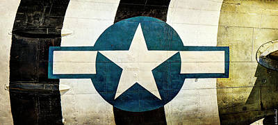 Photograph - C-47 Dakota Ww2 Usaf Insignia - Long by Weston Westmoreland