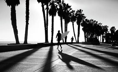 Photograph - C Street Shadowland by Sean Davey