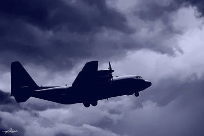 Photograph - C130 Hercules by Philip Rispin