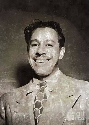 Music Paintings - Cab Calloway, Music Legend by Esoterica Art Agency