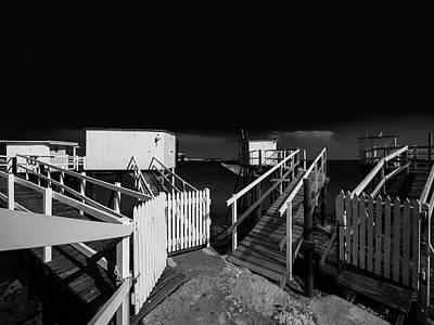 Photograph - Cabannes En Noir Et Blanc by Jorg Becker