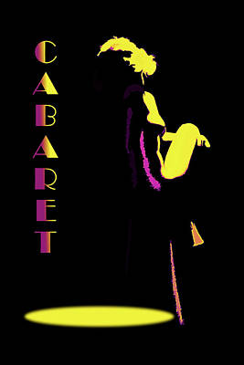 Digital Art - Cabaret by John Haldane