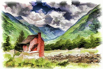 Painting - Cabin A18-116 by Ray Shrewsberry