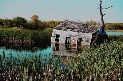 Photograph - Cabin Flood  by David Matthews