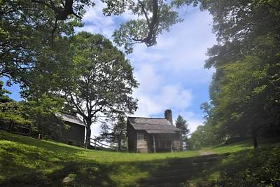 Photograph - Cabin On The Blue Ridge by Lisa Dunn