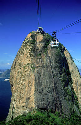 Photograph - Cable Car, Sugar Loaf by Chad Ehlers