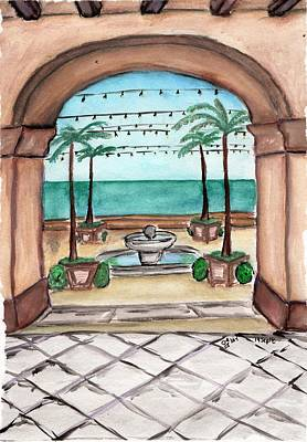 Painting - Cabo San Lucas by Amber Nicole