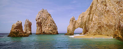 Photograph - Cabo San Lucas And Lands  End Arch by Harald Sund