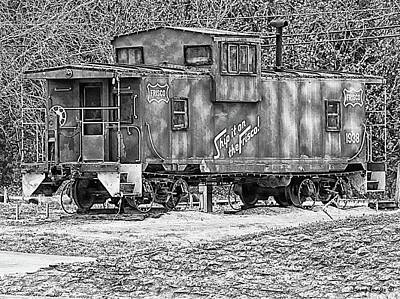 Photograph - Caboose Of Memories by Wesley Nesbitt