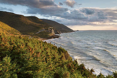 Scenic Photograph - Cabot Trail Scenic by Shayes17