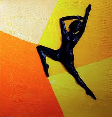 Painting - Cabriole No. 2 by Juan Contreras