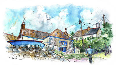 Painting - Cadgwith 01 by Miki De Goodaboom
