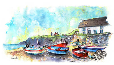Painting - Cadgwith 03 by Miki De Goodaboom