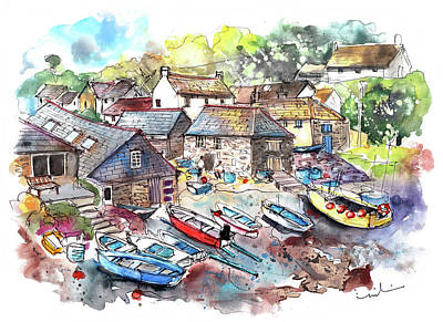 Painting - Cadgwith 06 by Miki De Goodaboom