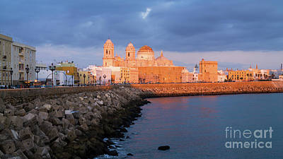 Photograph - Cadiz Skyline And Cathedral Andalucia Spain by Pablo Avanzini