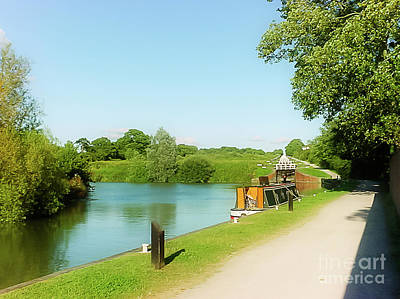 Photograph - Caen Hill Locks by Terri Waters