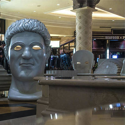 Photograph - Caesars Palace Las Vegas Nevada Indoor Decor by Alex Grichenko
