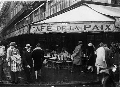 Photograph - Cafe De La Paix by Fpg