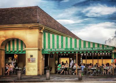 Photograph - Cafe Du Monde by Susan Rissi Tregoning