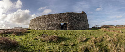 Photograph - Cahergall Stone Fort Ireland  by John McGraw