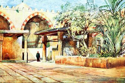 Photograph - Cairo Court 1912 by Munir Alawi