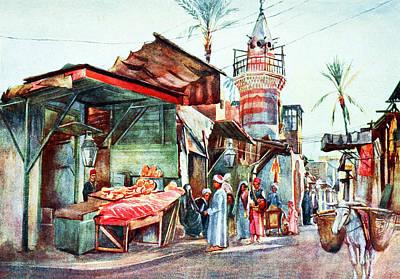 Photograph - Cairo Street 1912 by Munir Alawi