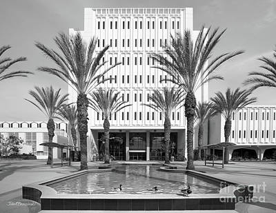Photograph - Cal State University Fullerton Langsdorf Hall by University Icons