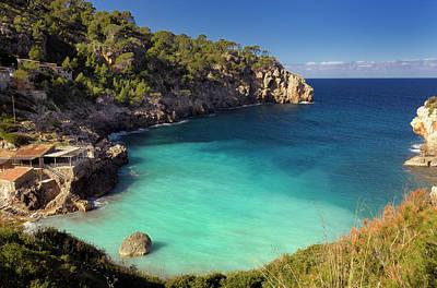 Photograph - Cala De Deya, Majorca, Spain by Cornelia Doerr