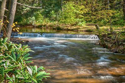 Photograph - Caledonia Stream Falls by Dan Urban