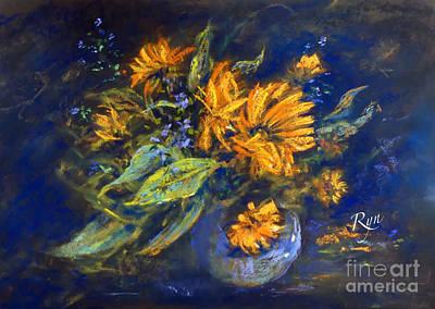 Painting - Calendula by Ryn Shell