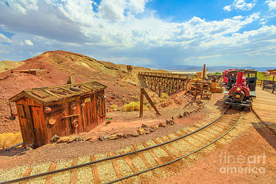 Photograph - Calico Steam Train by Benny Marty