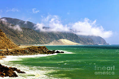Photograph - California Coast Along The Pacific Coast Highway by John Rizzuto