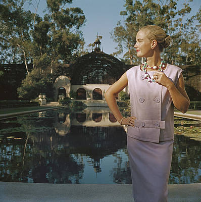 Photograph - California Fashion by Slim Aarons